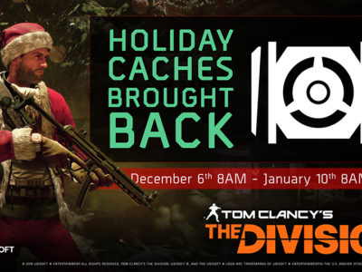 HOLIDAY CACHE IS OFFICIALLY BACK