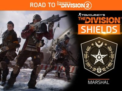 THE DIVISION SHIELD #11: MARSHAL LIVE NOW