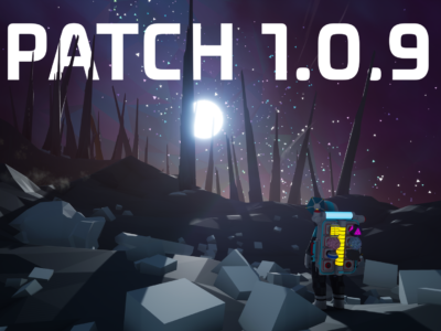 Patch 1.0.9 is live!