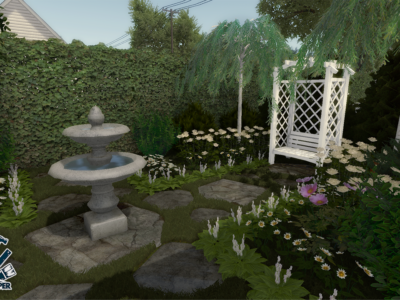 Sneak peek and garden designing!