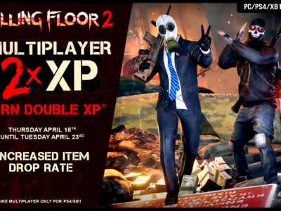 Double XP and Increased Drop Rate Event!