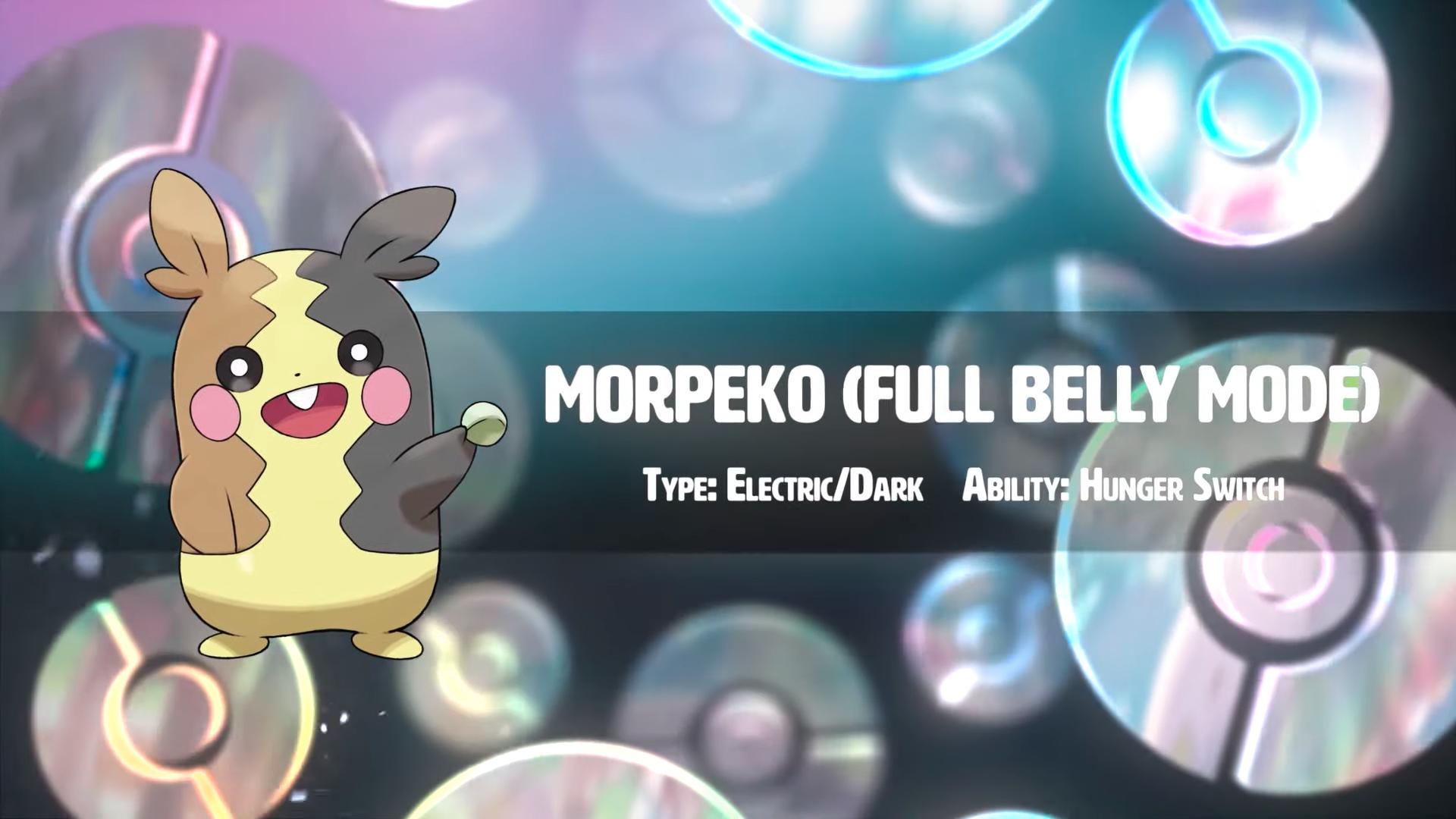 Pokemon Sword and Shield: Morpeko