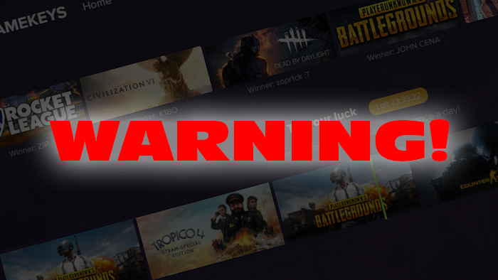 Steam Phishing Scam