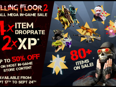 Killing Floor 2 Double XP And Steam In Game Sale Is Here
