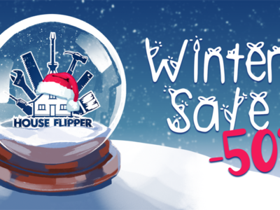 House Flipper with the biggest Christmas discount!