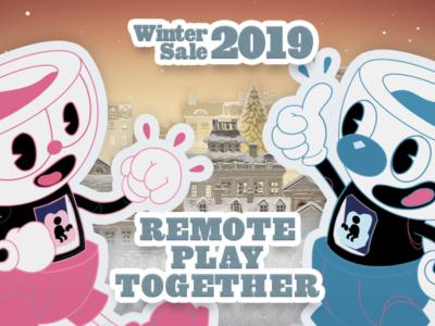 2019年Steamウィンターセール期間中のRemote Play Together