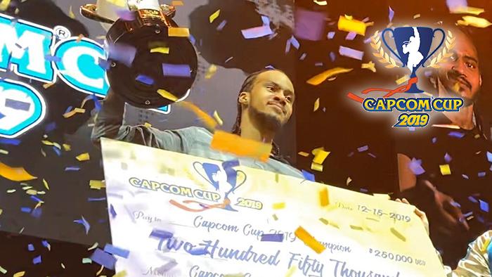 Capcom Cup 2019 Champion: iDom