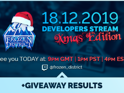 Developer stream today! Winter Update, House Flipper on consoles! Be there!