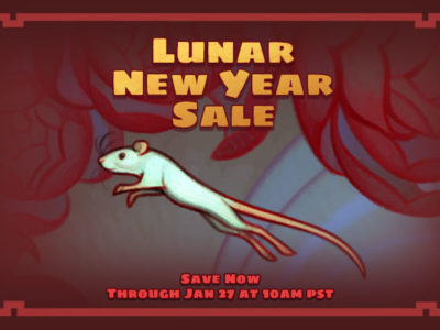The 2020 Lunar New Year Sale has begun—and the Emperor's Great Race is on!