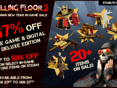 Killing Floor 2 Joins The Steam Lunar Sale