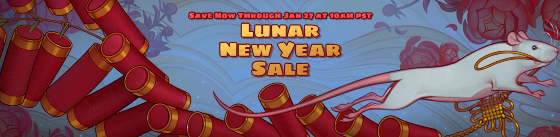 Steam Lunar New Year 2020 Sale