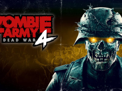 Zombie Army 4 Dead War Load Screens Look Like Old School Horror Movie Posters