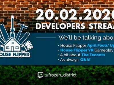 Developer Stream on 20.02.2020!