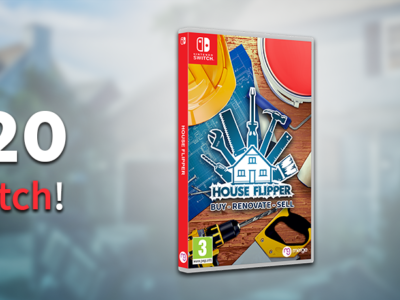 House Flipper comes to Nintendo Switch on June 12!
