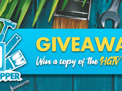 Join our first HGTV Giveaway!