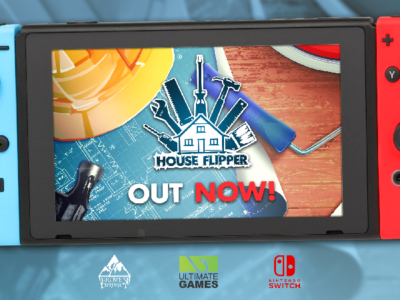 House Flipper has just arrived on Nintendo Switch with a 15% release discount!
