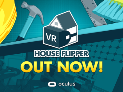 House Flipper VR just came out on Oculus Store!