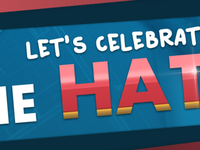 It's celebration time! – The Hat Day!