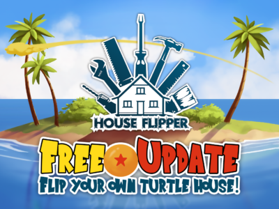 Bring your power level to over 9000 with House Flipper!